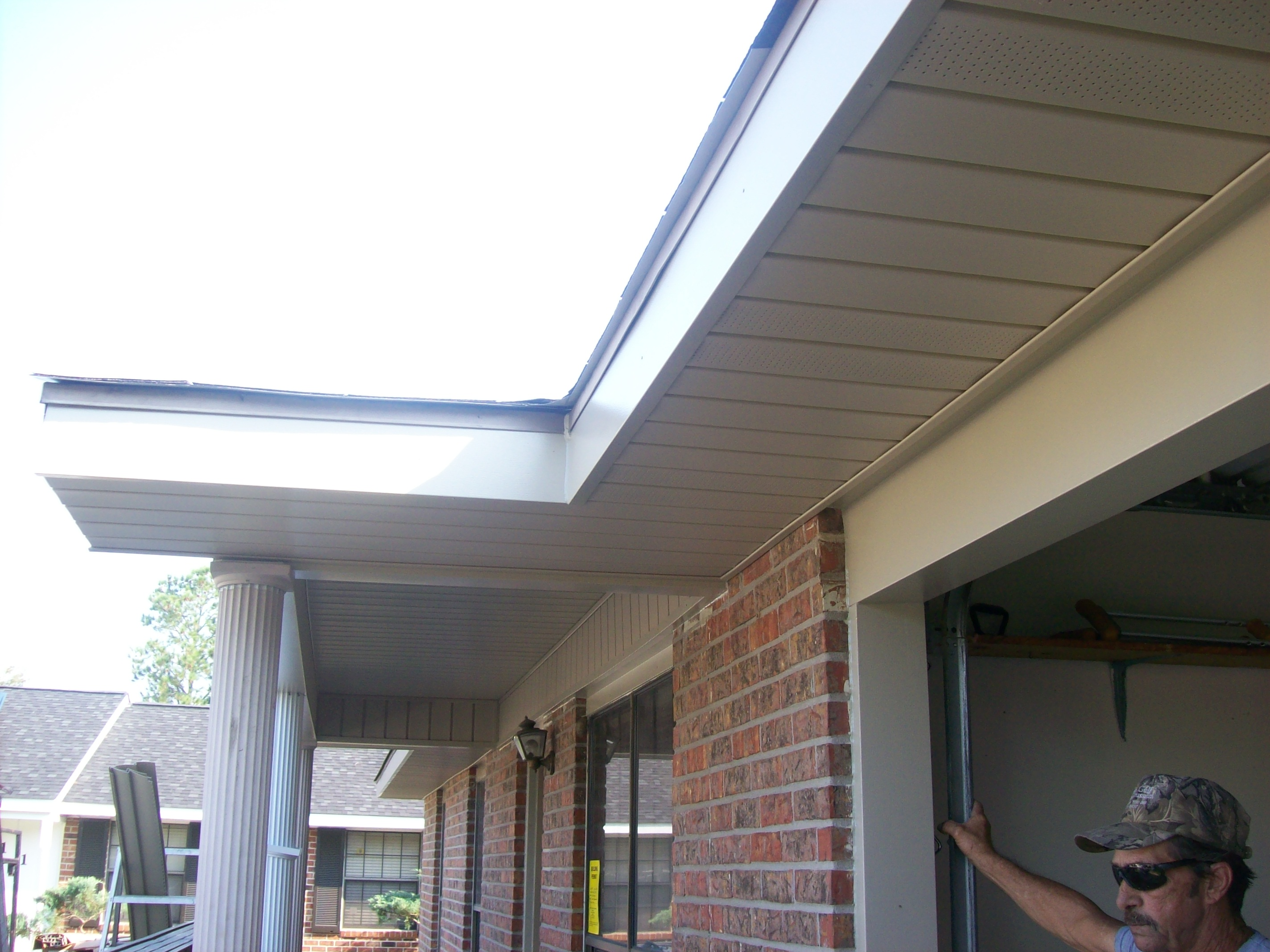 Overhangs A L I Home Improvement Company Lafayette La